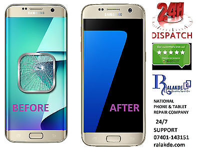 Samsung Galaxy S7 Edge LCD Screen Glass Replacement - 24 HOUR REPAIR SERVICE