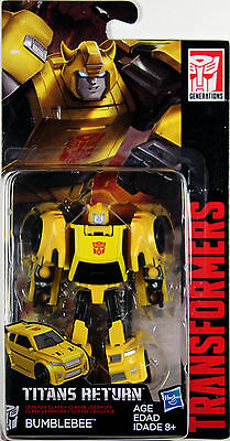 Transformers Legends Class ~ Autobot BUMBLEBEE Action Figure ~ Titans Return