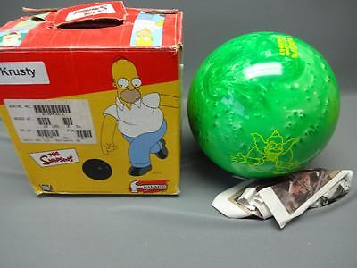 The Simpsons Krusty Green Swirl Bowling Ball 10 lb Hammer Undrilled