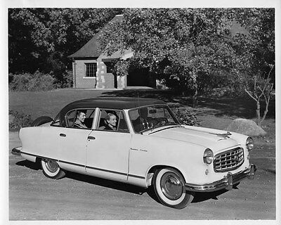 1955 Hudson Rambler ORIGINAL Factory Photo oae1428