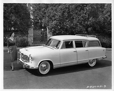 1955 Hudson Rambler ORIGINAL Factory Photo oae1430