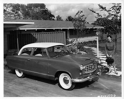 1955 Hudson Rambler ORIGINAL Factory Photo oae1435