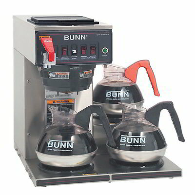 Bunn CWTF15-3L Automatic Commercial Coffee Brewer Maker CALL 4 SHIPPING