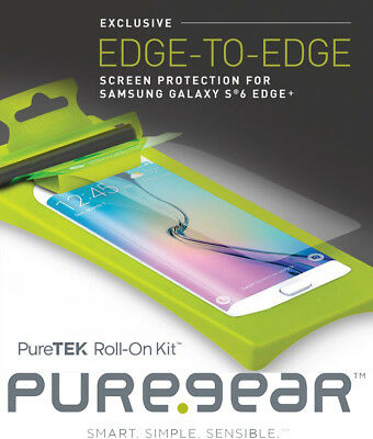 Puregear Puretek Roll-On Screen Protector Kit For Samsung Galaxy S6 Edge Plus +