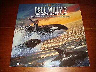 Free Willy 2 The Adventure Home - Laserdisc Ntsc Format