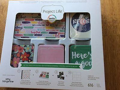 ~ Project Life ~ Becky Higgins Core Kit. Better Together Edition. Brand new