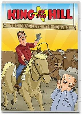 King Of The Hill: The Complete 9th Season - 2 DISC SET (2015, DVD New)