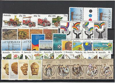 1983 Australia Year collection. 41 stamps MNH / cheap