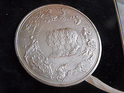 Pistrucci's Sterling Silver Waterloo Medal by John Pinches