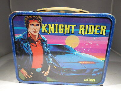 Thermos Knight Rider Lunchbox Lunch box Metal