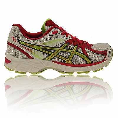 Asics Gel Chart 2 Womens White Running Road Sports Shoes Trainers Pumps