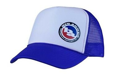 Big Agnes Logo Trucker Hat - Blue