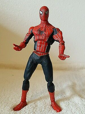"""2004 Marvel Spider-Man The Movie 12"""" Action Figure w/ 23 Points of Articulation"""