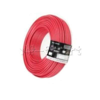 New Red UL-1007 24AWG Hook-up Wire 80°C / 300V 10M Cord Hook-up DIY Electrical