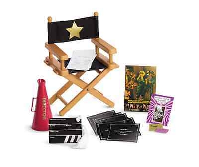 American Girl AG Rebecca's Director Set with Chair and Accessories