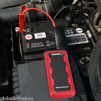 12V 800A Portable Car Jump Starter Auto Battery Booster Power Bank with Dual USB
