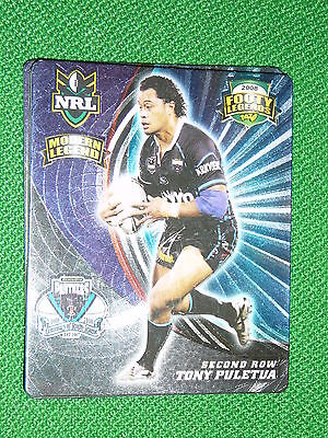2008 Nrl Footy Tazo #49 Modern Legend Tony Puletua Penrith Panthers