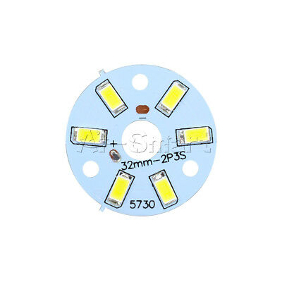10Pcs 3W 5730 SMD Positive Pure White LED Emitting Diode Panel Board Fixtures AS