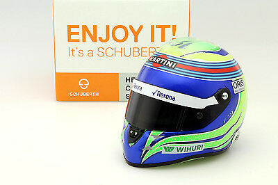 Felipe Massa Williams FW38 Formel 1 2016 Helm 1:2 Schuberth