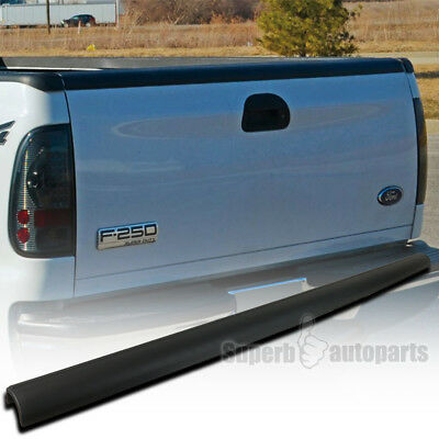 1999-2007 Ford F250 F350 SuperDuty Black Tailgate Cap Molding Protector Cover