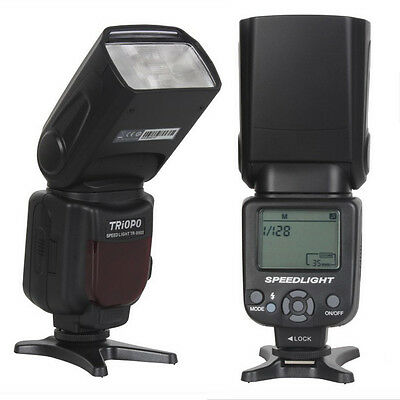 TRIOPO TR-950 Speedlite Flash gun Flash Light for Canon Nikon as YongNuo YN-560