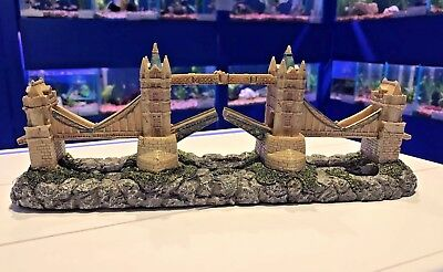 London Tower Bridge Aquarium Fish Tank Ornament 793