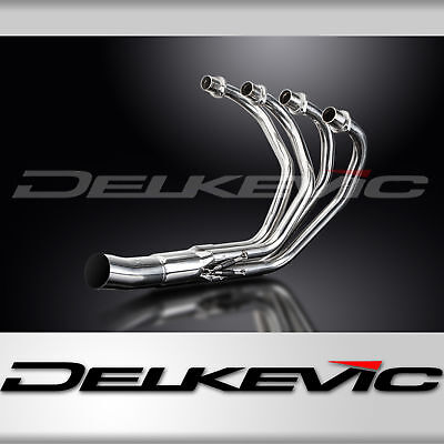 Header Exhaust Manifold Stainless Steel Downpipes Honda CB400F 75 76 77 Delkevic