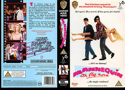 Mannequin On The Move - Kristy Swanson - Video Promo Sample Sleeve/Cover #17139