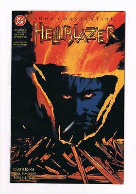 Hellblazer # 45 Dangerous Habits - The Sting ! grade - 8.0 scarce book !!