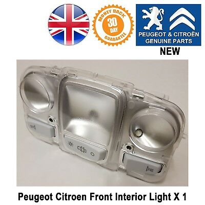 Peugeot 308 3008 5008 Interior lamp light roof Reading with 3 LEDs Genuine New