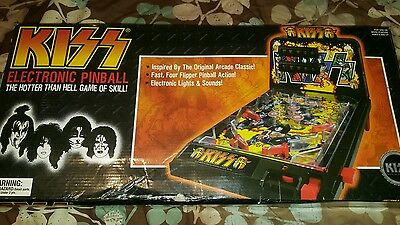Kiss pinball machine toy electronic hotter than hell