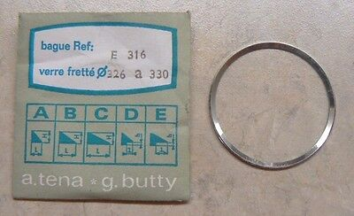 VINTAGE NOS TENA BUTTY E 316 WATCH TENSION RING 326 a 330