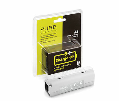 Pure Rechargeable ChargePak A1 Battery Pure One Mi Series 2 DAB Digital Radio