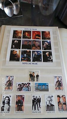 Collection Of Depeche Mode Stamps