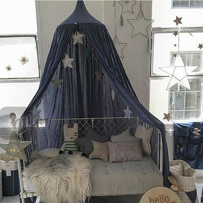 Kid Baby Bedding Dome Bed Canopy Netting Bedcover Mosquito Net Curtain