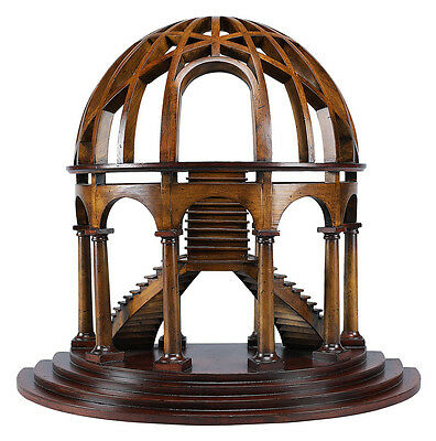 """Demi-Dome Architectural 3D Wooden Model 16"""" x 18"""" Dome Authentic Models New"""