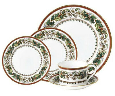 Brand New - SPODE CHRISTMAS ROSE 5 PIECE PLACE SETTING - multiples available