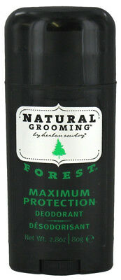 Herban Cowboy Natural Grooming Forest Deodorant Maximum Protection 2.8 Oz./80 g