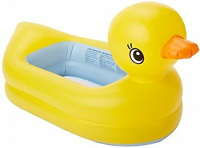 Munchkin Large White Hot Safety Inflatable Duck Tub Baby Bathing Toddler Kids