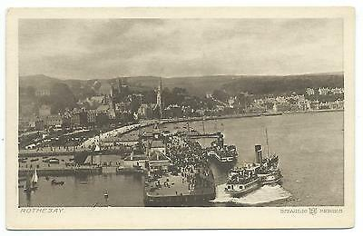 SCOTLAND - ROTHESAY Isle of Bute Postcard * SHIPPING