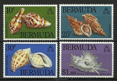 Bermuda 1982 Sea Shells MNH