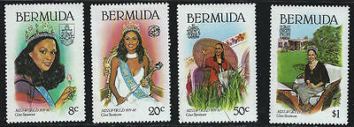Bermuda 1980 Miss World MNH