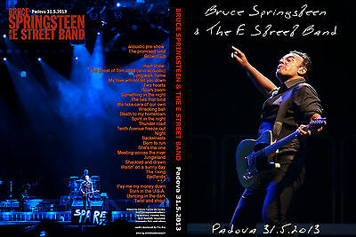 Bruce Springsteen. 2013. Padova. Awesome. Wrecking Ball Tour. 2 Dvd.