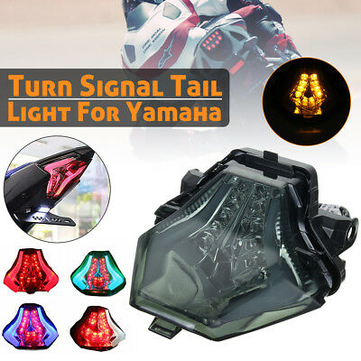 ABS Integrated Rear Tail Turn Signal Light For YAMAHA YZF R25 R3 MT07 2015-2016