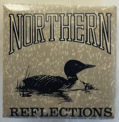 Vintage Northern Reflections Pin Pinback Button                (Inv12932)