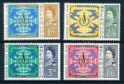 Bermuda 1968 Human Rights MNH