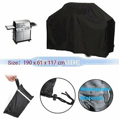 190cm Outdoor pluie étanche neige BBQ Cover Grill Housses protection barbecue