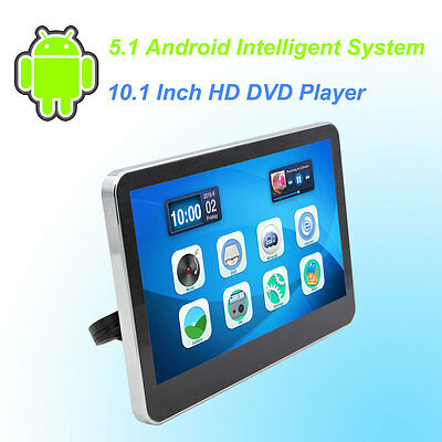 Car Headrest DVD Player Android 5.1 HD 10.1 Inch Monitor HD Quad Core - 1 PCS