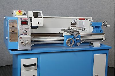 """WEISS WBL250F Bench Top 10"""" x 30"""" LATHE - Belt Drive ALL Leadscrews are Imperial"""
