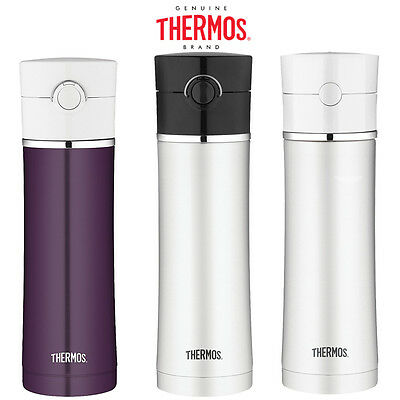 Thermos Premium Stainless Steel Vacuum Insulated Leak-proof Drinks Bottle 470ml